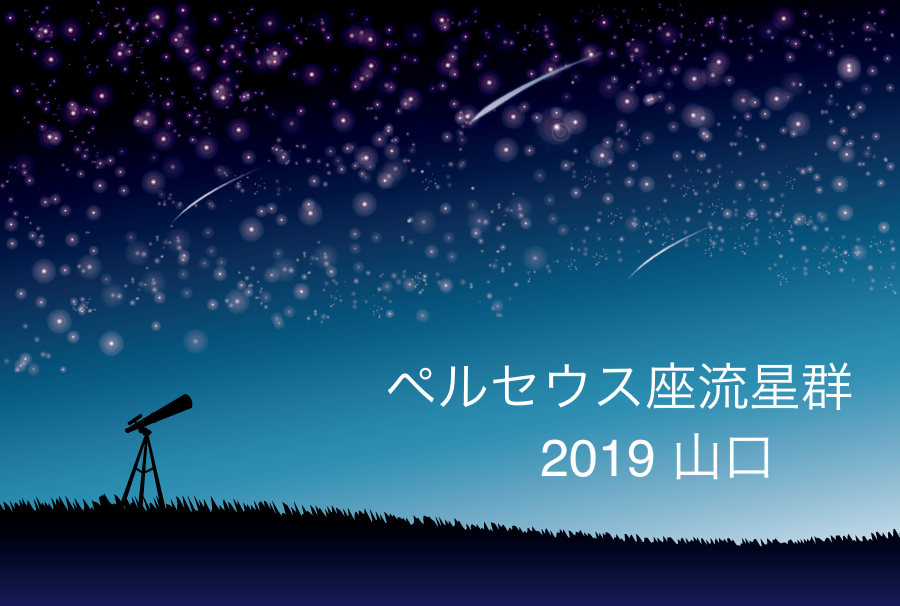 ペルセウス座流星群_2019_山口